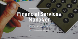 Link to apply for financial services manager